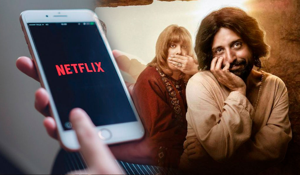 Juez ordena a Netflix retirar programa con Jesucristo gay