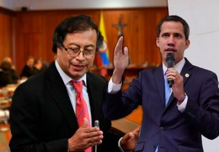 Cancillería rechaza solicitud de Petro sobre Guaidó