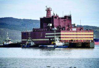 Empieza a funcionar la primera planta nuclear flotante