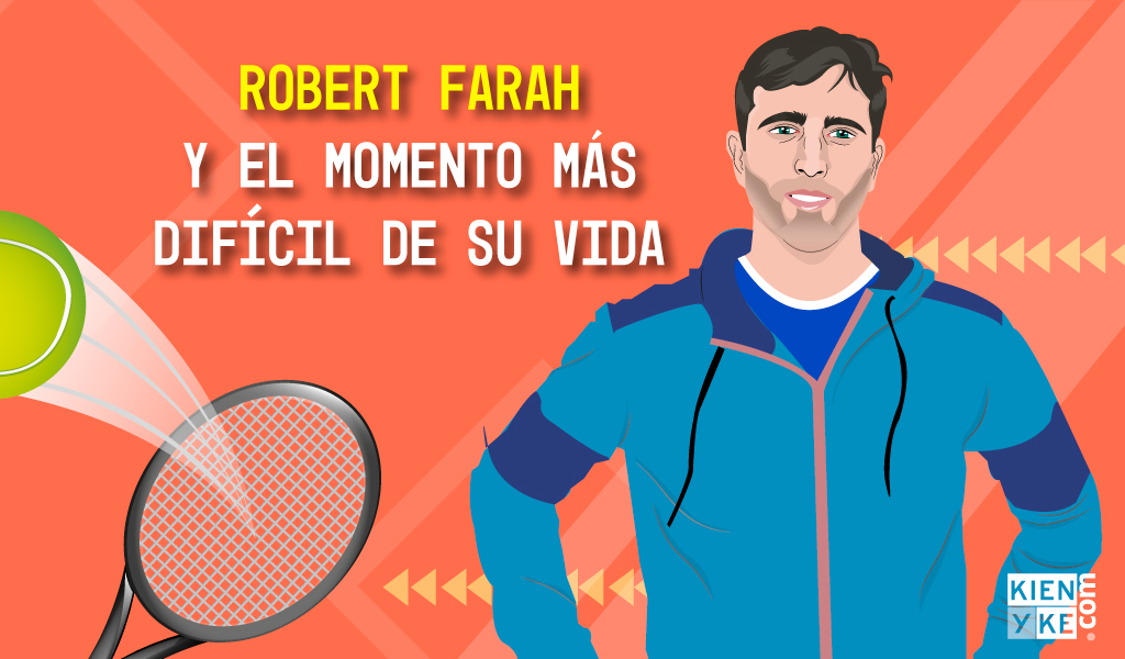 Robert Farah y el momento más difícil de su vida
