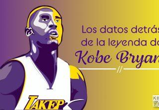 Los datos detrás de la leyenda de Kobe Bryant