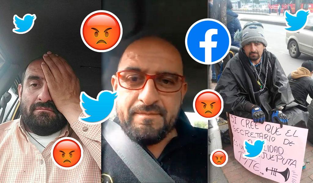 Polémica por machistas declaraciones de líder taxista