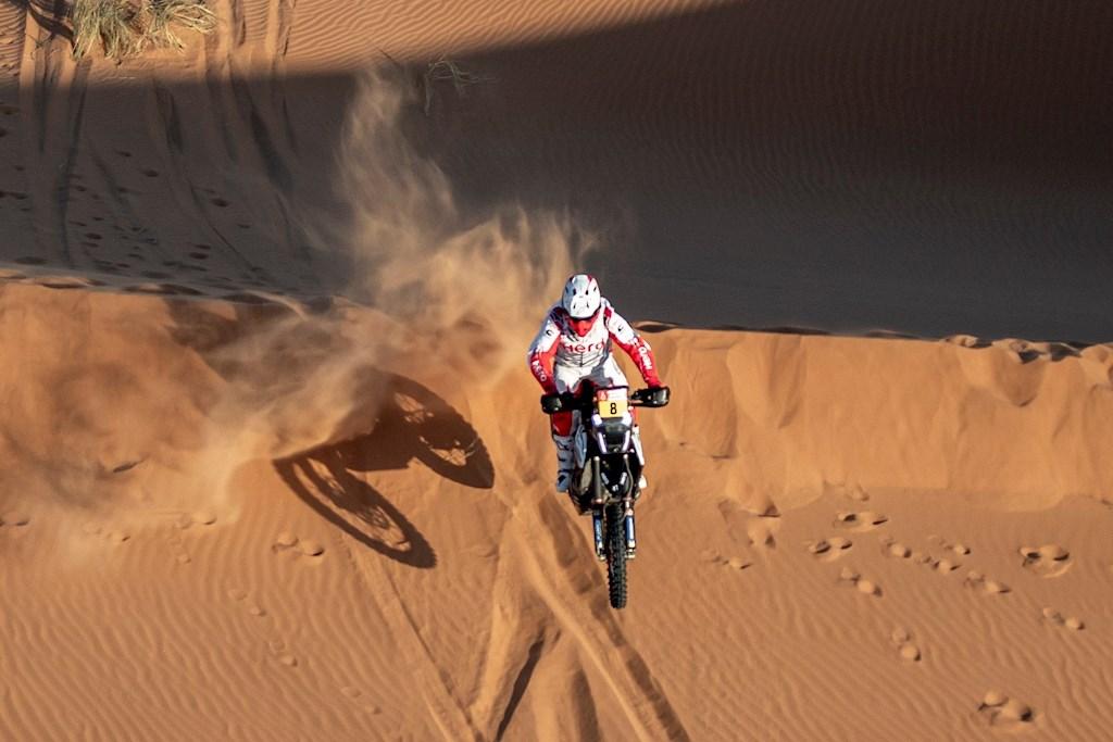 Motociclista murió tras trágico accidente en el Rally Dakar