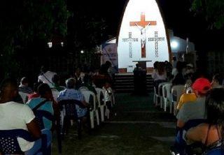 Familiares homenajearon a víctimas de la masacre de La Chinita