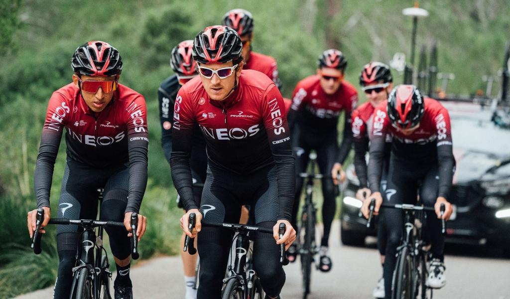 Team Ineos para el Tour Colombia