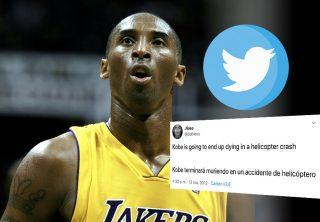 El escalofriante trino que predijo la muerte de Kobe Bryant