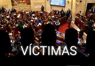 Víctimas siempre son el eje central: Archila sobre curules