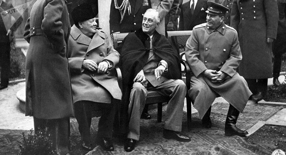 ¿Cómo se acordó el nuevo orden mundial en 1945?