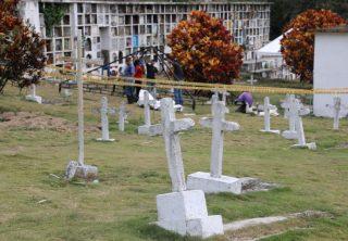 JEP exhuma otros diez cuerpos en Dabeiba, Antioquia