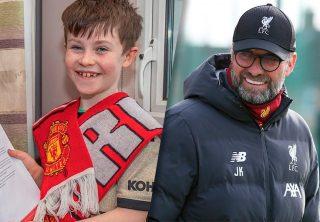 Niño pidió la derrota del Liverpool y Klopp le respondió