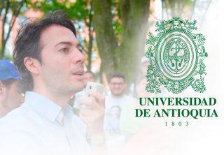 Estudiantes de la Universidad de Antioquia se declara en paro
