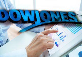Dow Jones pierde casi mil puntos por el coronavirus