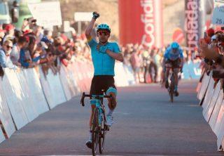 Superman López gana la cuarta etapa de Algarve
