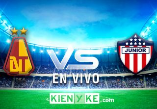 En vivo: Deportes Tolima vs Junior