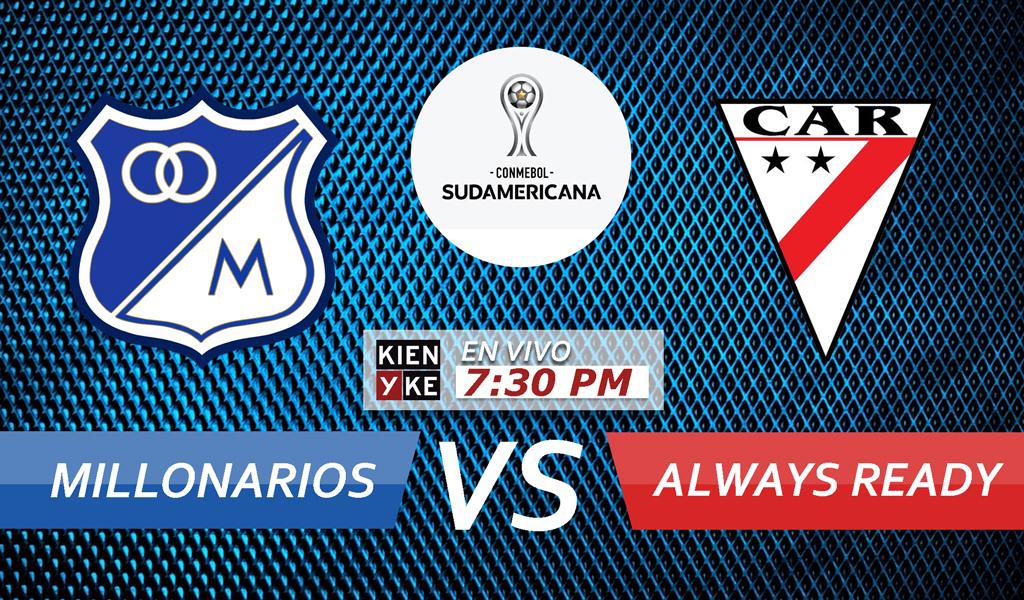 Victoria de Millonarios en Sudamericana