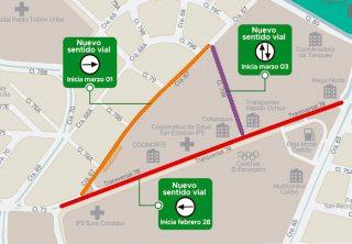 Conozca los cambios viales y cierres nocturnos en Medellín