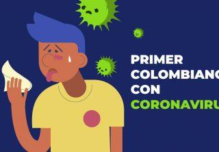 Primer caso de un colombiano con coronavirus