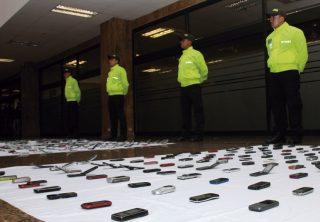¿Qué pasa con el hurto de celulares en Bogotá?
