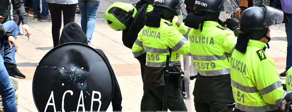Balance de las manifestaciones del 21F en Bogotá