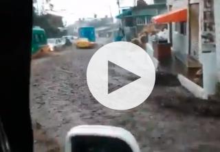 Problemas de movilidad por inundaciones en Bogotá