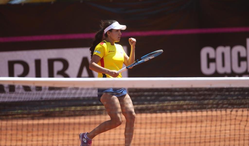 Colombia arrancó con pie derecho en la Fed Cup