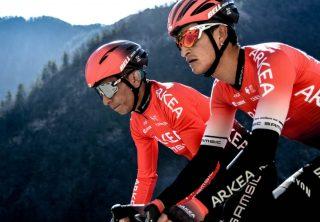 Quintana en Tour de los Alpes Marítimos y de Var 2020