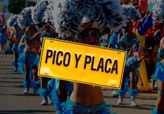 Así será el pico y placa durante el Carnaval de Barranquilla