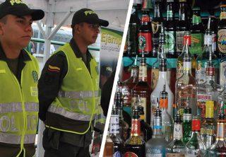 Incautan 980 botellas de licor fraudulento en Bogotá