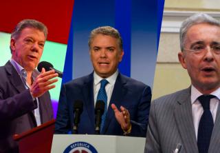"""Uribe defendió a Duque y cuestionó el """"derroche"""" de Santos"""