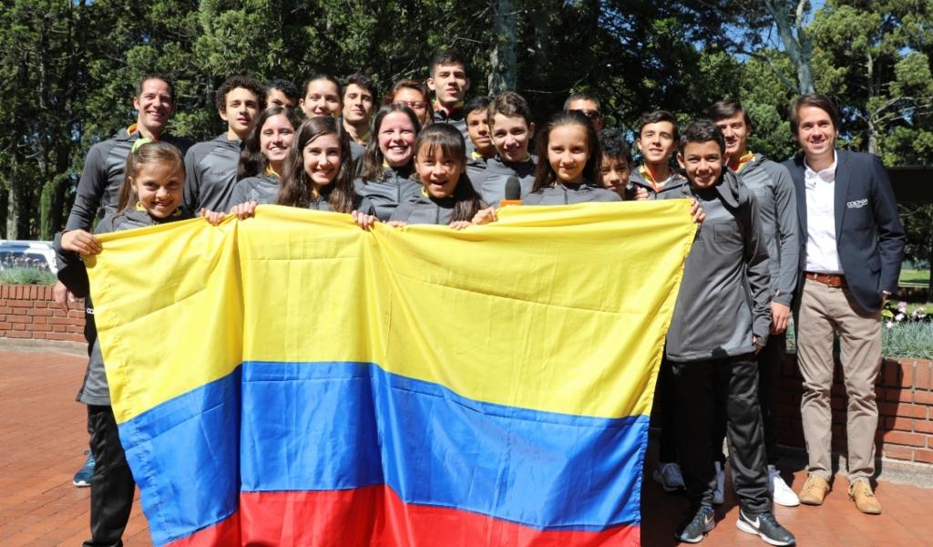 Selección Colombia de Squash lista para Sudamericano
