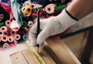 ¿Residuos textiles como materiales de construcción?